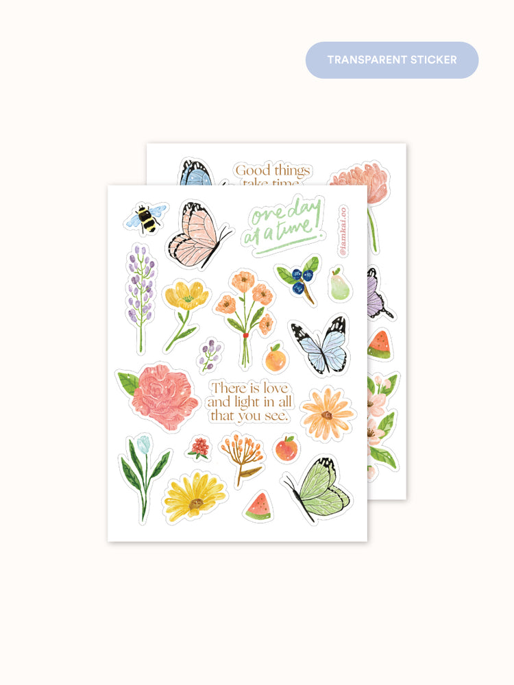 Sticker Pack: Spring Blooms