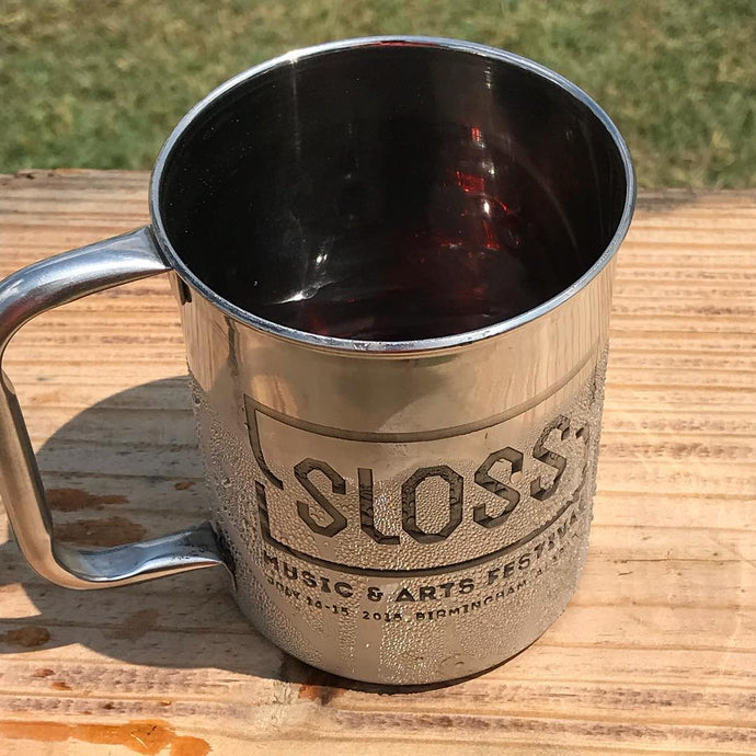 Stainless Steel Mugs - Sloss Fest Logo 2018 (Regular)