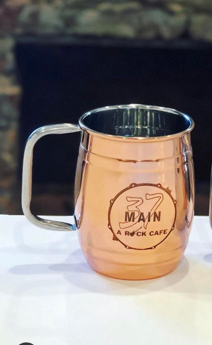 Copper Barrel Mug - 37 Main