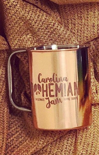 Stainless Steel Mugs - Carolina Bohemian (Copper Regular)