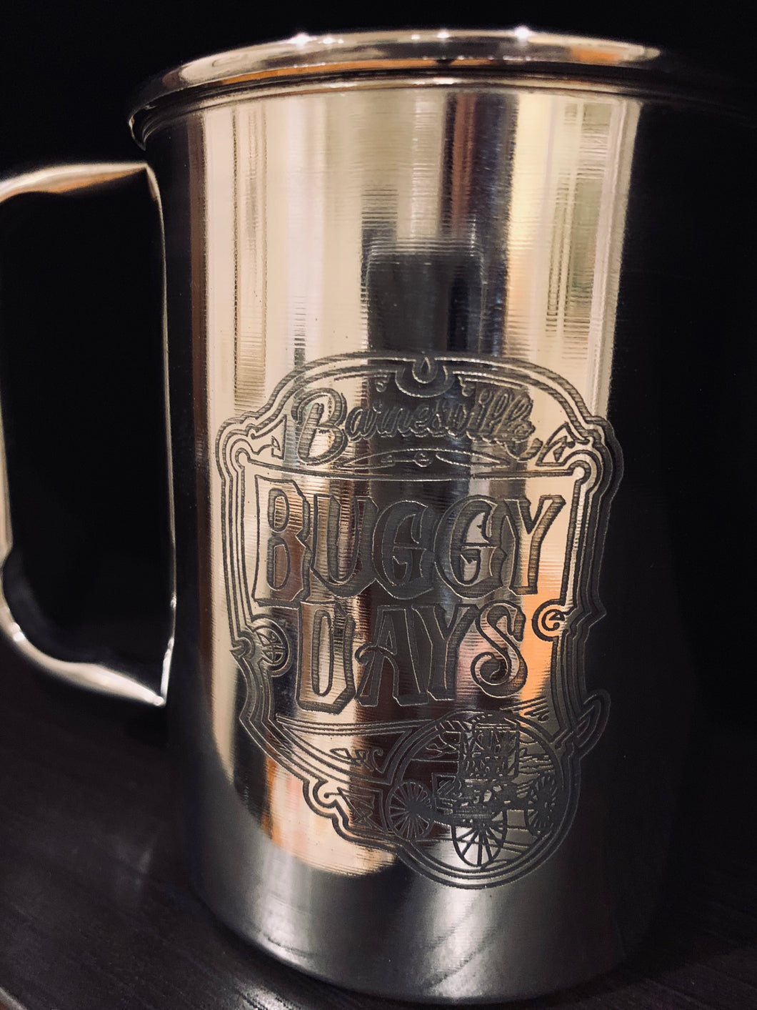 Stainless Steel Mugs - Buggy Days