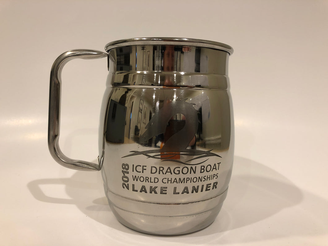 Stainless Steel Mugs - ICF Dragon Boat (Barrel)