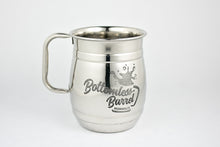 "Stainless Steel Mugs - ""Bottomless"" Barrel Mug"