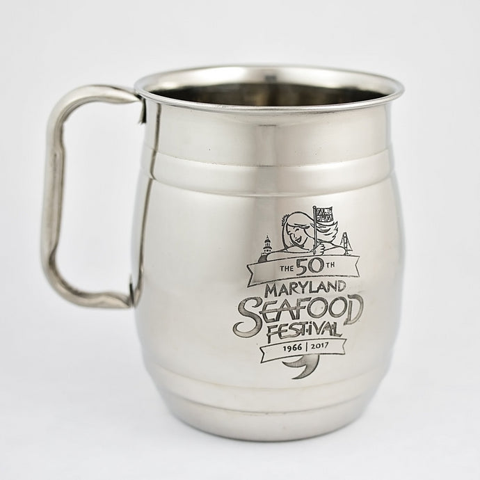 Stainless Steel Mugs - Maryland Seafood Fest 2017