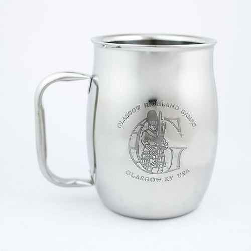 Stainless Steel Mugs - Glasgow Highland Games