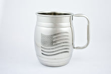 Stainless Steel Mugs - Patriotic Mug Mania Logo
