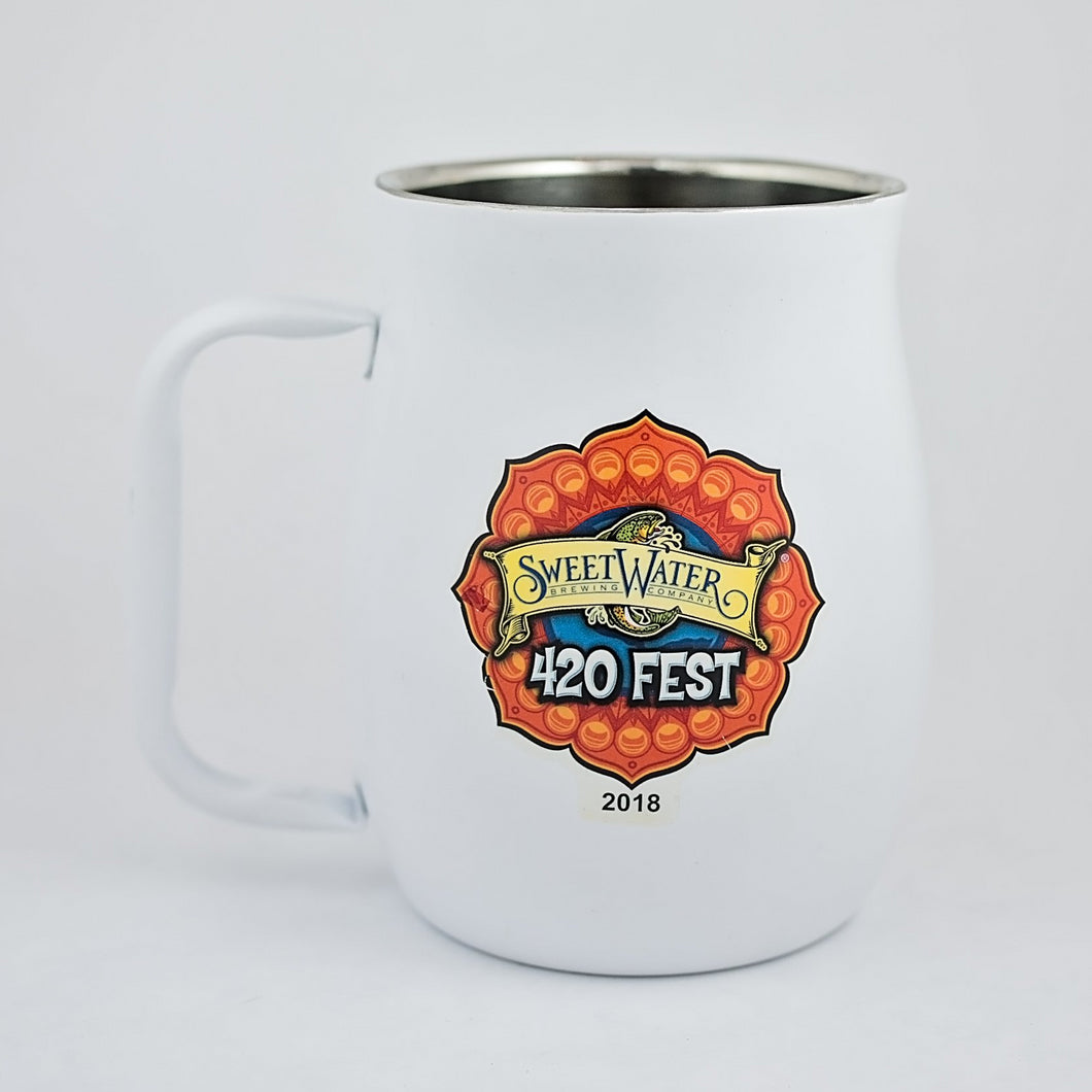 Stainless Steel Mugs - SweetWater 420 Fest 2018 (Insulated)