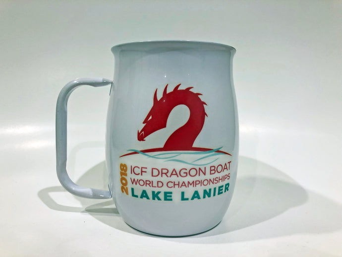 Stainless Steel Mugs - ICF Dragon Boat White (Insulated)