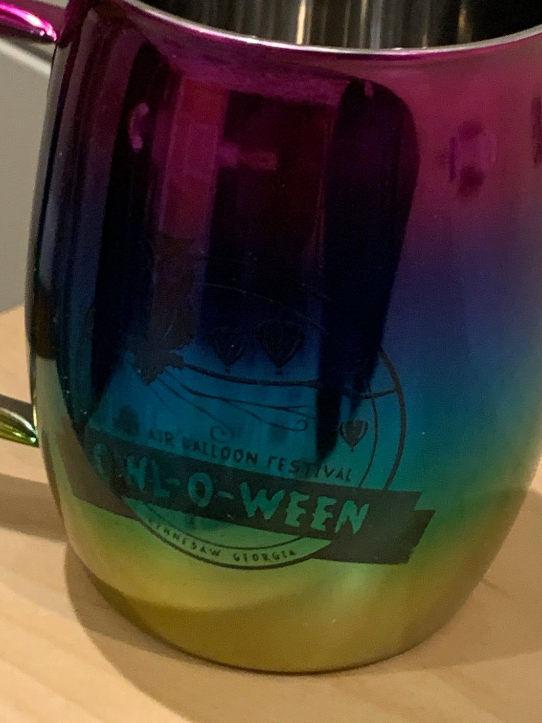 Stainless Steel Mugs - Owl-O-Ween (Rainbow Barrel)