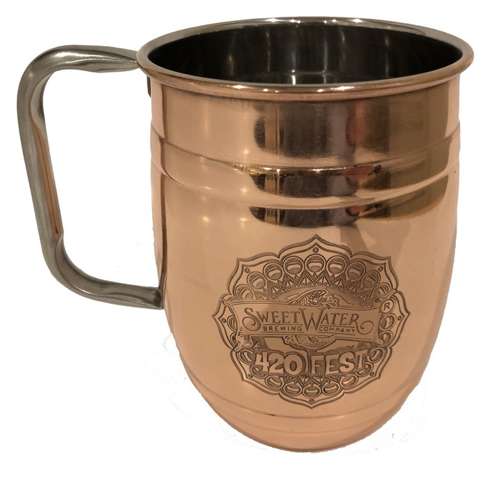 Sweetwater 420 Copper Barrel Mug (2019)