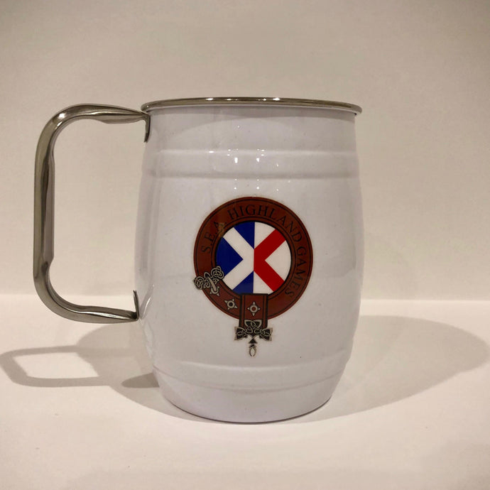 Stainless Steel Mug - Wiregrass Highland Games