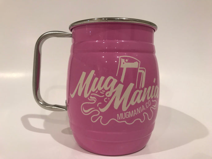 Stainless Steel Mugs - Pink