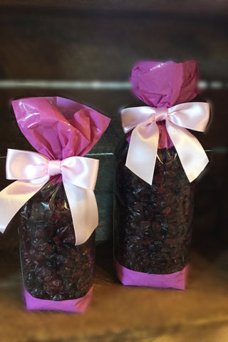 Strawberry Flavored-Sweetened Dried Cranberries