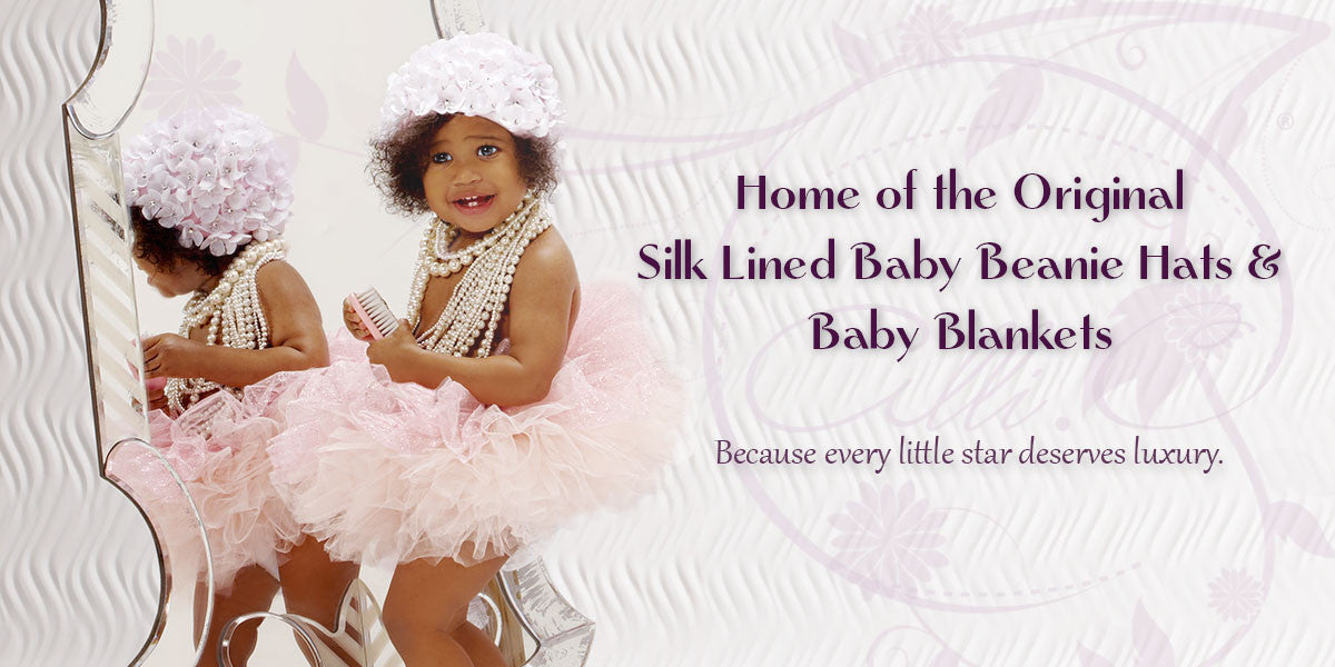 home of the original silk-lined baby beanie hats and baby blankets