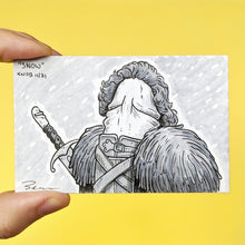 John Snow penis drawing