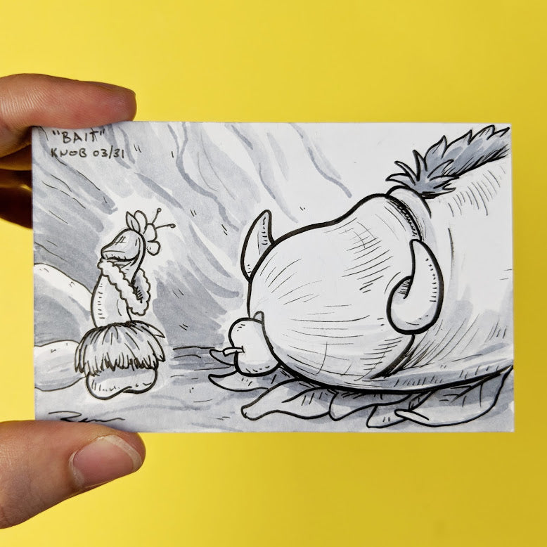 Drawing of a scene from Lion King with Pumbaa and Timon drawn as penises