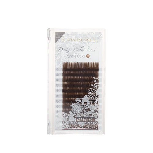 New Platinum Sable Candy Color Lashes JC-Curl 0.15mm - Olive