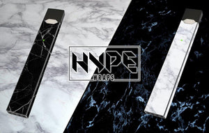 Make Your Juul Timeless With The Marble Juul Skins From HypeWraps