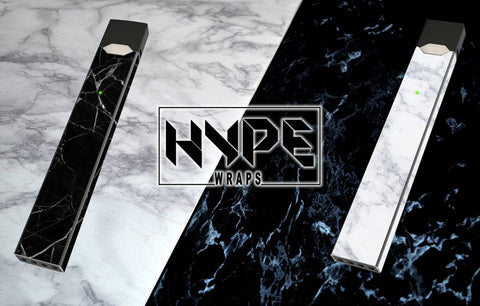 Black And White Marble Juul Skins Juul Wraps JuulWraps HypeWraps