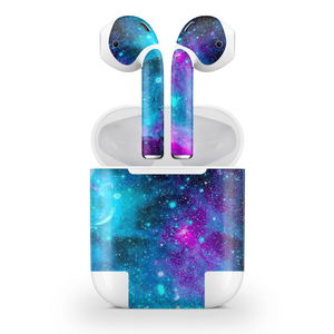 Galaxy Nebula Airpods Wraps