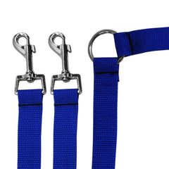 Nylon Double Leash for Two Dogs