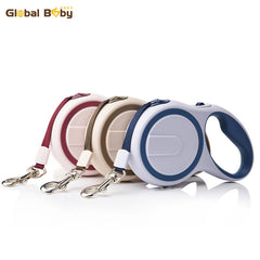 New Arrival Brand ABS High-Grade Stable Durable 3 Meter Automatic Retractable Dog Traction Rope Leashes Pet Leads