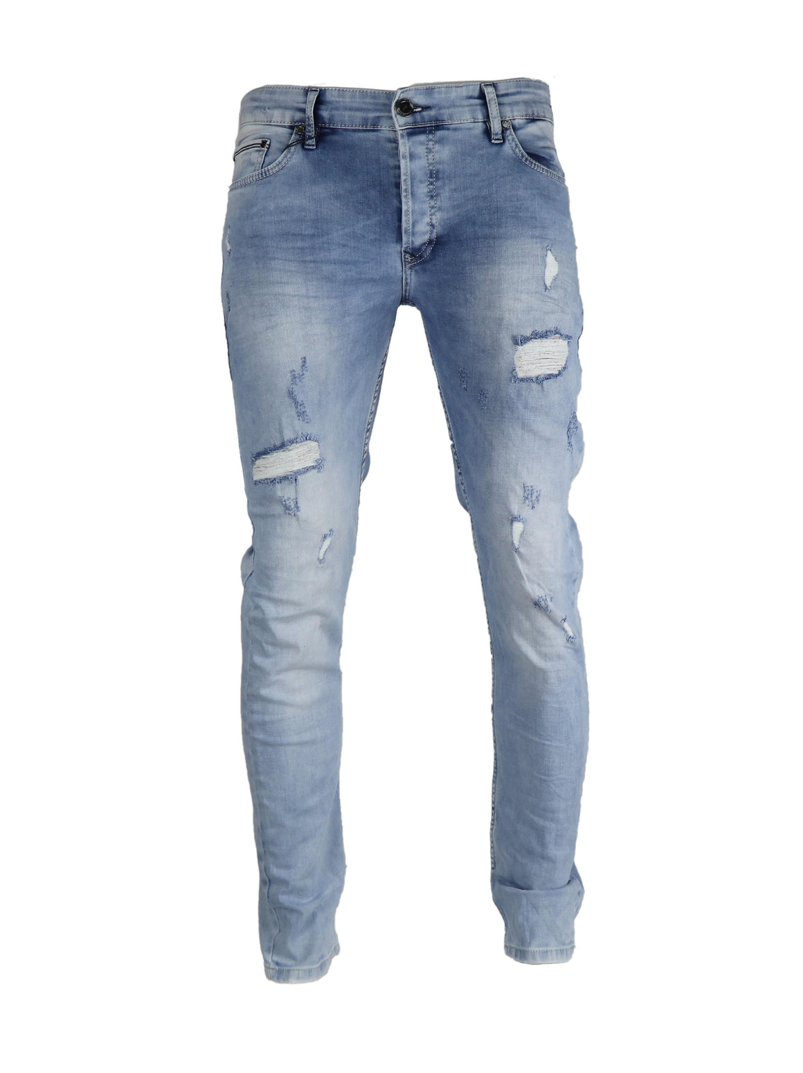 Ripped Wash Blue 2915