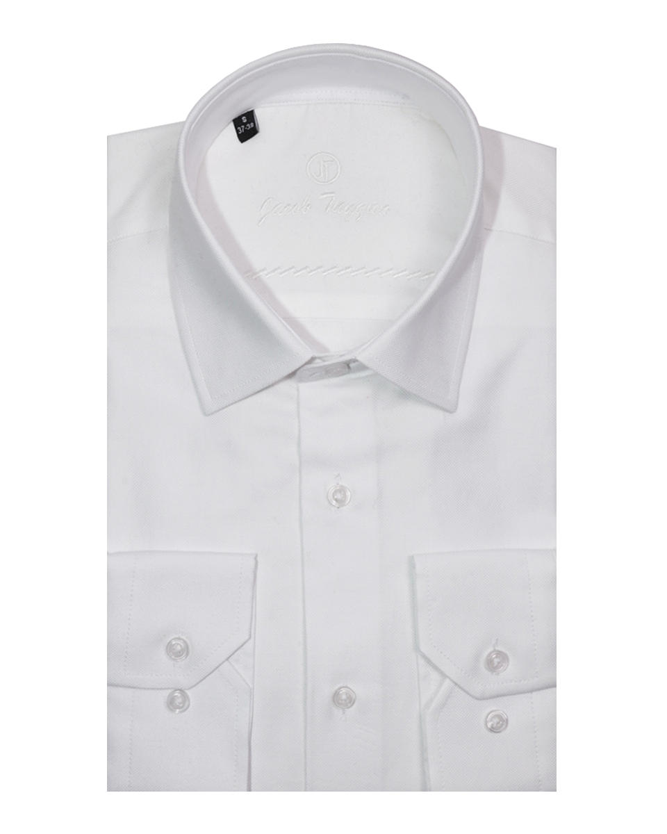 JT Slim - Traditional White   OXFORD-13-VP