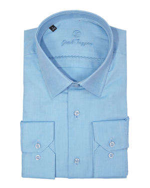 JT SLIM- Blue Oxford   OXFORD-36-VP