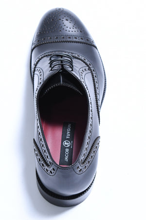 BLACK CAP TOE