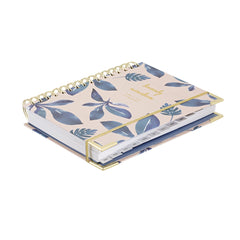 2019 Amelia Lane Life Designer, Signature Weekly (Ocean Leaves)