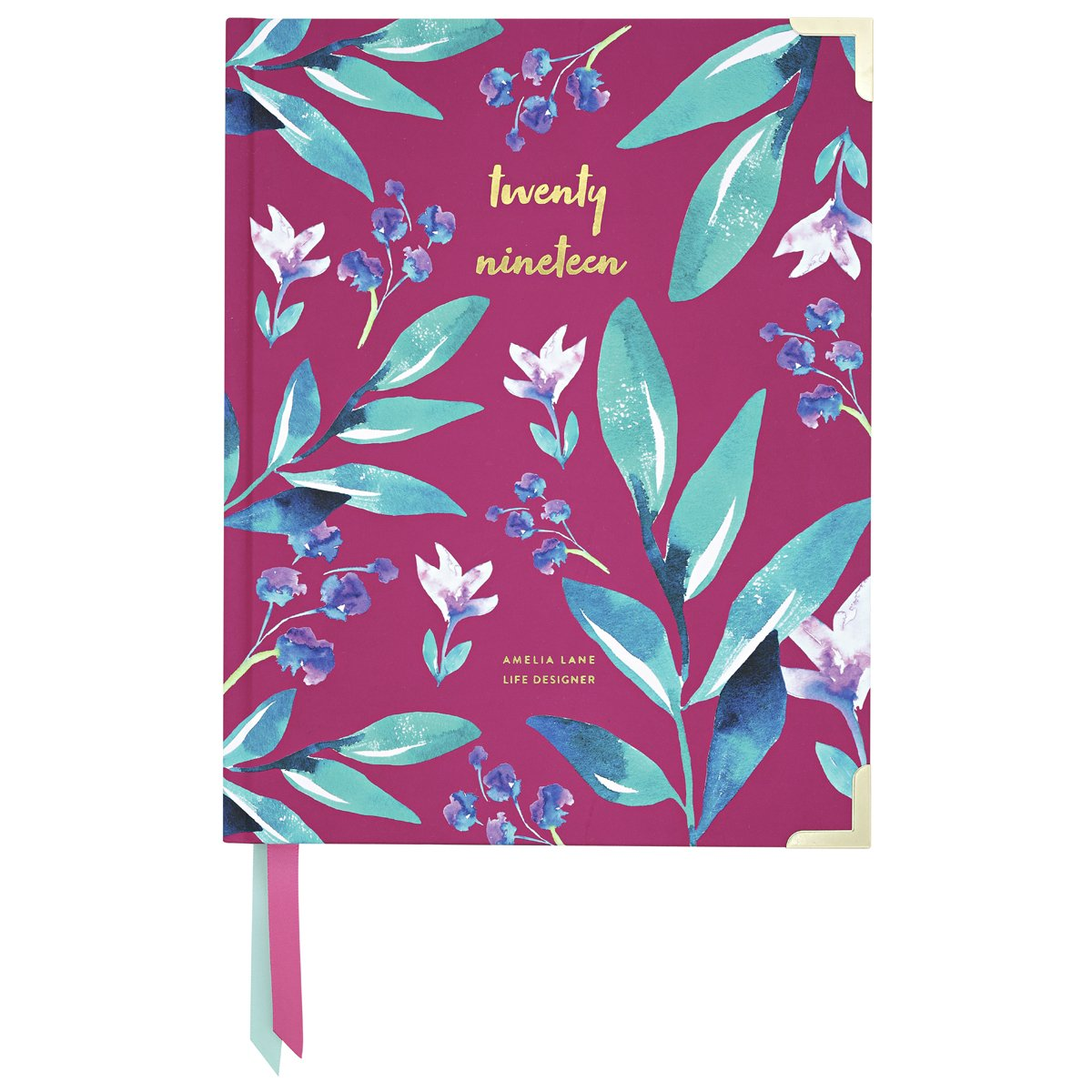 2019 Amelia Lane Life Designer, Desktop Daily (Mulberry Botanical)
