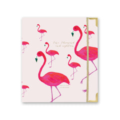 2018 Amelia Lane Life Designer, Signature Weekly (Pink Flamingo)