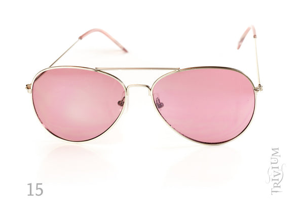 Aviator Metal Frame  Lens Sunglasses