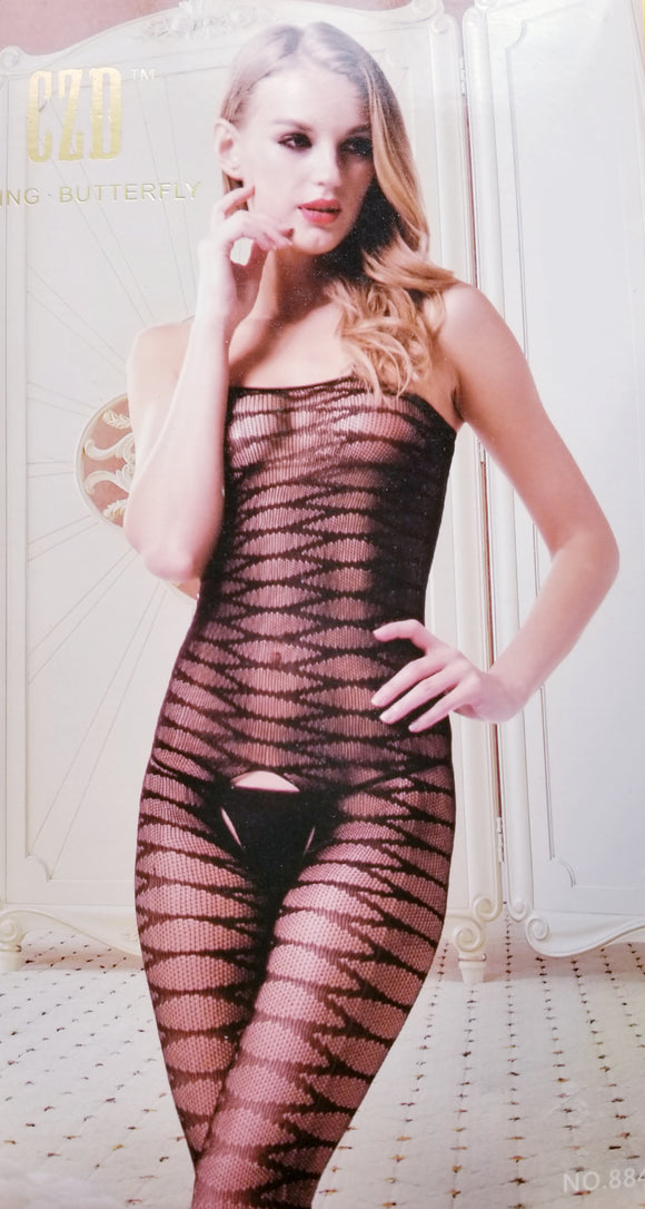 Chemise Patterned Sexy Body Stocking