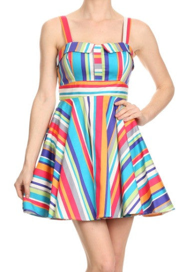 Ixia Striped Dress