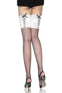 5 Lace Lycra Sheer Stay-Up Thigh High Stockings