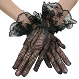 Fancy Fishnet Gloves