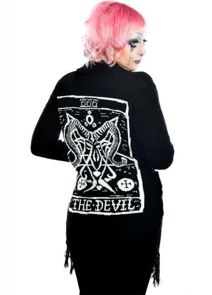 THE DEVIL TAROT SWEATER