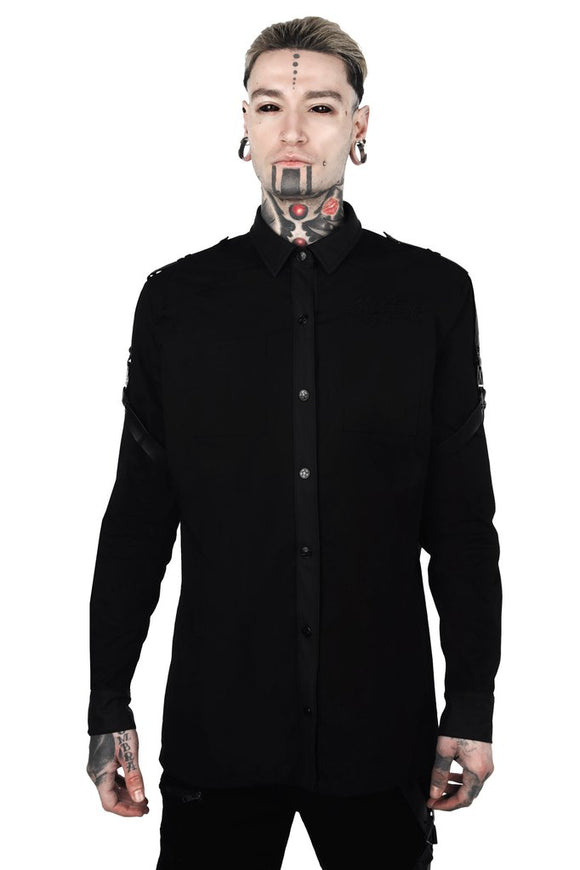 Death Wish Button-Up M-Shirt