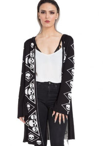 Diamond Skulls Cardigan