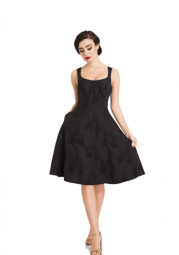 Tiffany Black Flare Dress