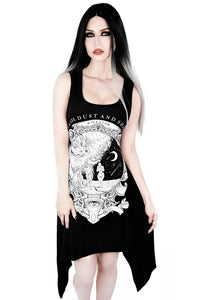 Killstar Dust Lace-Up Tunic