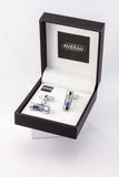 Hourglass Cufflink French Shirt With Gift Box