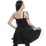 Elizium Gothic Skirt Ladies Black