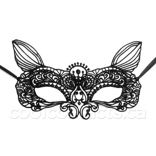 Festival Fox Ears Lace Mask