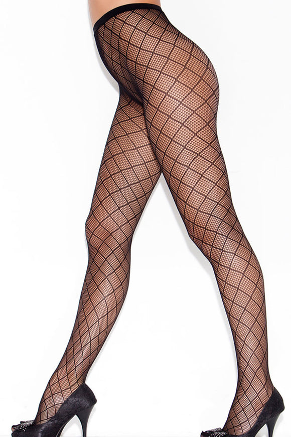 Reticulation Sheer Pantyhose Stockings
