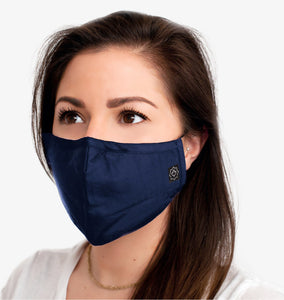 Washable Reusable Fabric Mask Unisex With Pocket-6 & 5 Filters