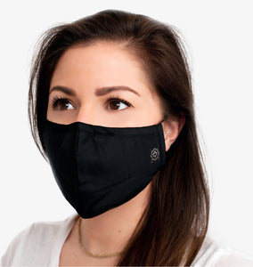 Washable Reusable Fabric Mask Unisex With Pocket-7 & 5 Filters
