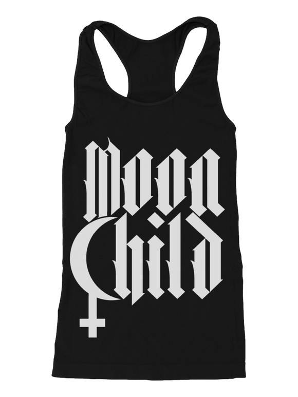 Blackcraft Moon Child Racerback Tank Top